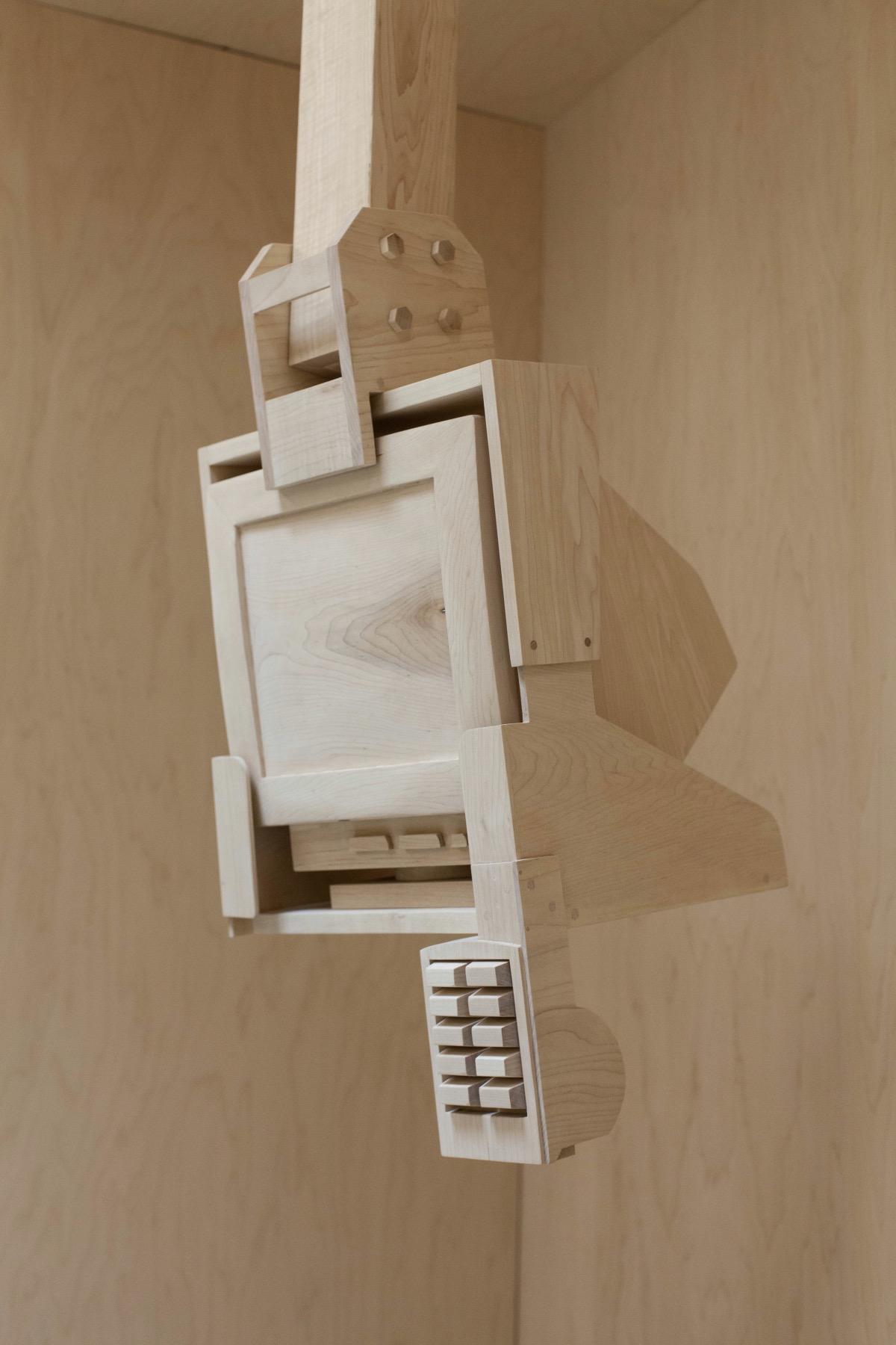 Деревянный монитор