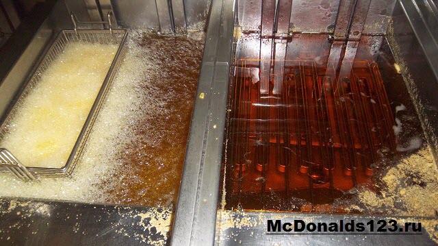 Некачественное масло в Макдональдс