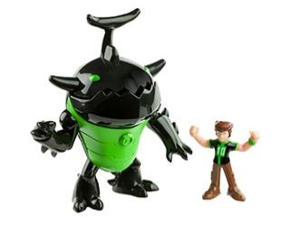 Робот и Бен 10
