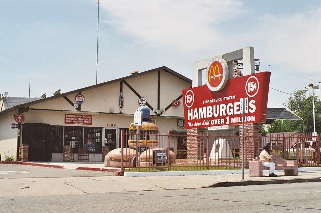 Макдональдс в Сан Бернардино в наши дни