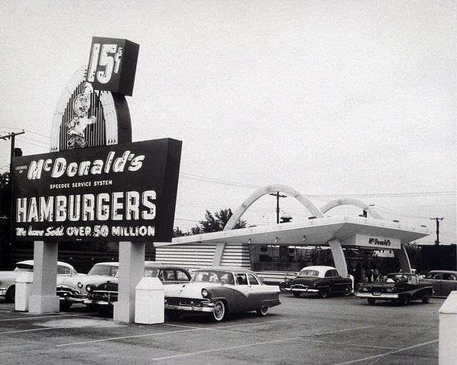 История развития Макдональдс