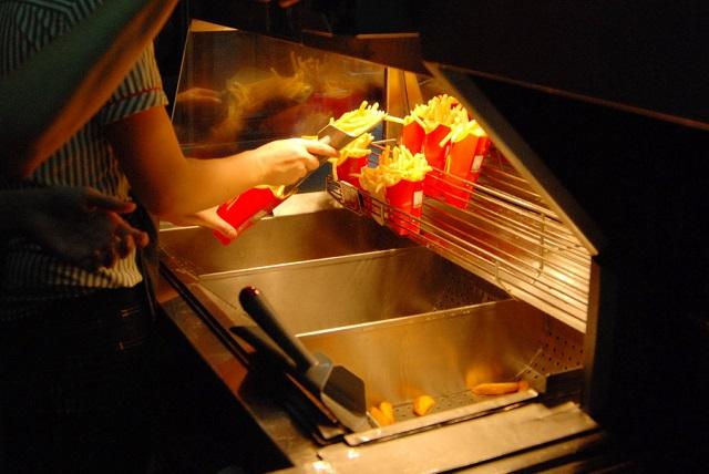 Станция картофеля фри