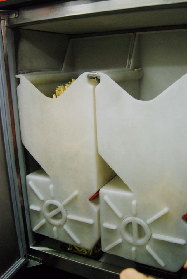 аппарат для рассыпки картофеля