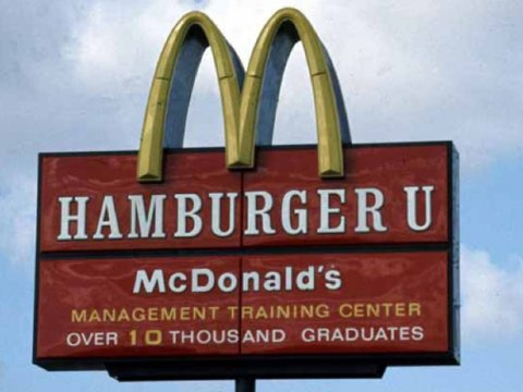 McDonald's Hamburger University
