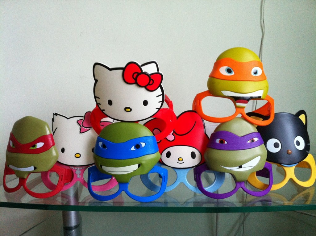 Hello Kitty & TMNT