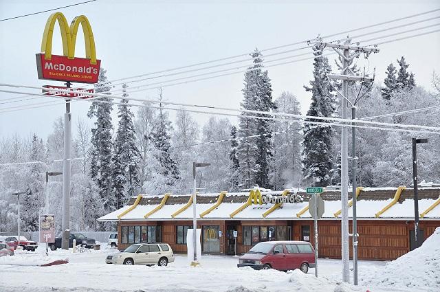 Макдональдс на Аляске