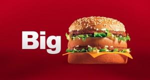 Биг Мак — самый известный гамбургер в Макдональдс