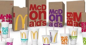 McDonald's обновляет упаковку своей продукции