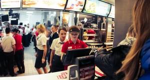 Макдональдс на Пушкинской площади возобновил работу