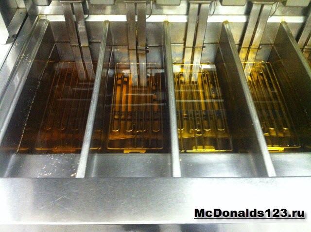Масло в Макдональдс, день 1
