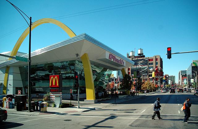 Самые необычные рестораны Макдональдс в мире