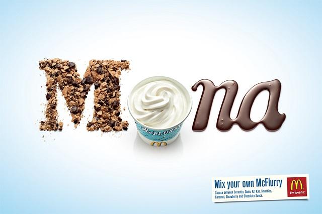 реклама МакФлурри