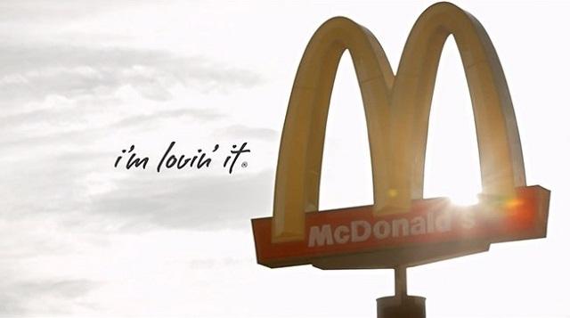 Креативная реклама Макдональдс