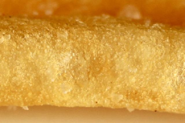 корочка картофеля фри