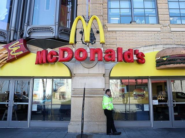 Ресторан Макдональдс в главном офисе компании
