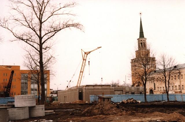 Строительство ресторана Макдональдс в Ярославле