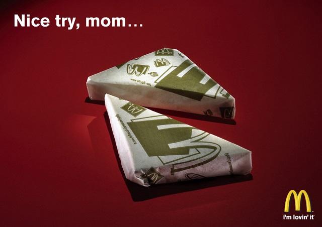 Хорошая попытка, мама.