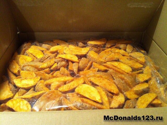 Упаковка картофеля по-деревенски