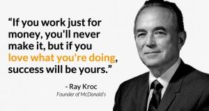 Рэй Крок — основатель Макдональдс