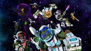 Черепашки-ниндзя в космосе