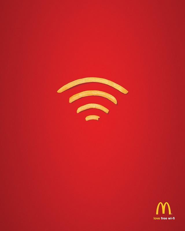 Бесплатный WiFi в Макдональдс