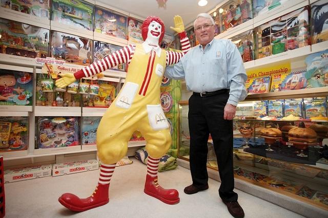 Коллекция вещей Макдональдс